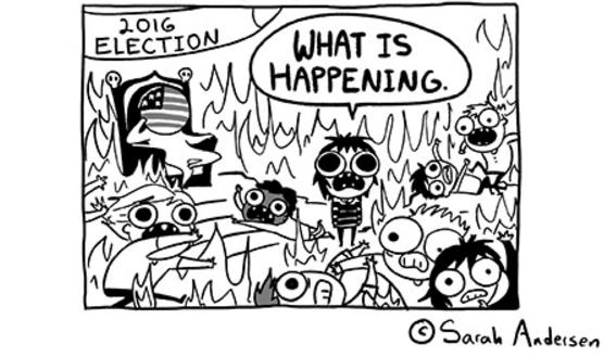 Sarah's Scribbles 2016 Election