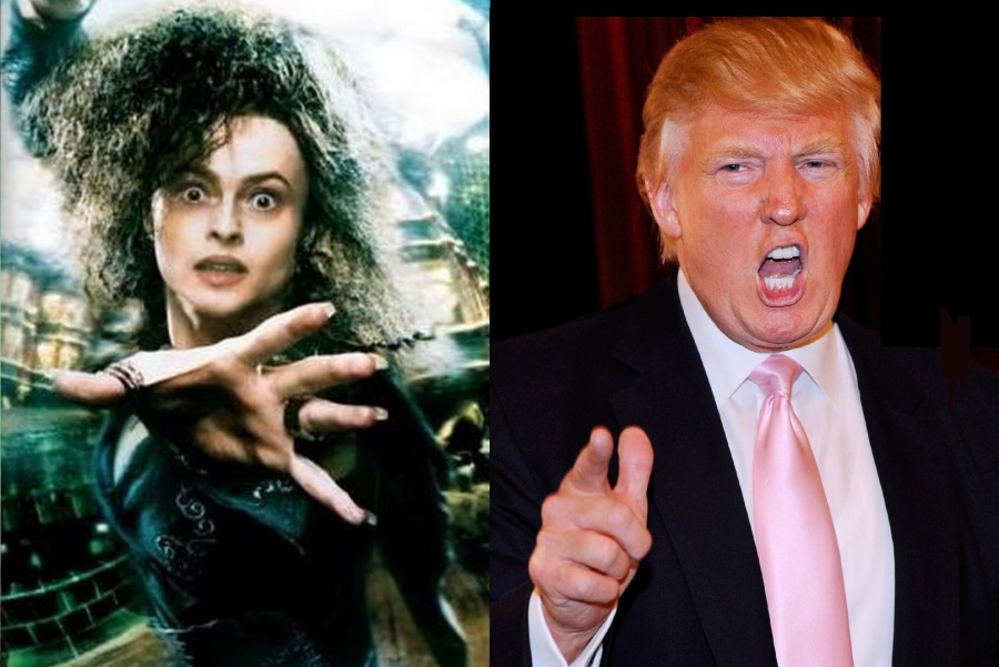 Trump is Bellatrix